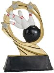 Bowling Cosmic Resin Trophy Bowling Trophy Awards