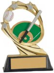 Baseball Cosmic Resin Trophy Cosmic Resin Trophy Awards