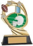 Football Cosmic Resin Trophy Cosmic Resin Trophy Awards