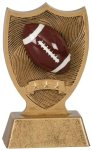 Plastic Sport Shield Football Award Football Trophy Awards